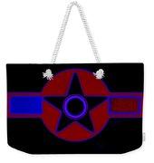 Pentagram In Red Weekender Tote Bag