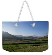 Pentlands With Clouds And Some Sun. Weekender Tote Bag