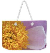 Peonie Yellow Center Weekender Tote Bag
