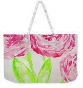 Peonies In Bloom Weekender Tote Bag