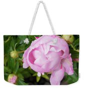 Peony After The Rain Weekender Tote Bag
