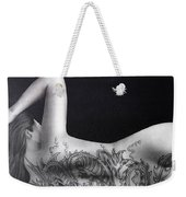 People- Girl With Tattoo Weekender Tote Bag