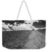 People On The Hill Bw Weekender Tote Bag
