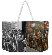 People - People Waiting For The Bus - 1943 - Side By Side Weekender Tote Bag