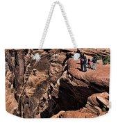 People View Horseshoe Bend Rock Edge  Weekender Tote Bag