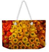 Pepper Colors Weekender Tote Bag