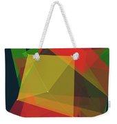 Pepper Polygon Pattern Weekender Tote Bag