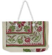 Pepperberry Quilt Weekender Tote Bag