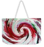 Peppermint Stick  Weekender Tote Bag