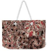 Peppermint Swirl Weekender Tote Bag