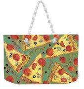 Pepperoni Pizza Weekender Tote Bag