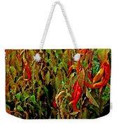 Peppers - Red Weekender Tote Bag