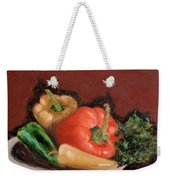 Peppers And Parsley Weekender Tote Bag