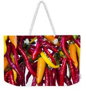 Peppers - Farmers Market - Madison - Wisconsin Weekender Tote Bag