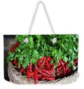 Peppers In A Basket Weekender Tote Bag