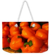 Peppers Plump And Pretty Weekender Tote Bag