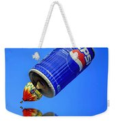 Pepsi Can Hot Air Balloon At Solberg Airport Reddinton  New Jersey Weekender Tote Bag