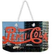 Pepsi-cola Weekender Tote Bag