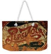 Pepsi Cola Vintage Sign 5b Weekender Tote Bag