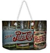 Pepsi Double Dot Metal Carrier  Weekender Tote Bag