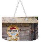 Pepsi Sign Weekender Tote Bag