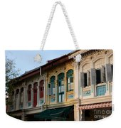 Peranakan Architecture Design Houses And Windows Joo Chiat Singapore Weekender Tote Bag