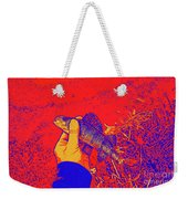 Perch Red Yellow Blue Weekender Tote Bag
