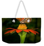 Perched On A Blossom  Weekender Tote Bag