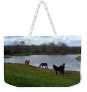 Percheron Pasture Weekender Tote Bag