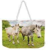Percherons Horses Weekender Tote Bag