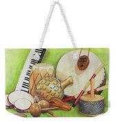 Percussion Weekender Tote Bag