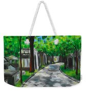 Pere Lachaise Cemetery Weekender Tote Bag