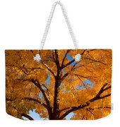 Perfect Autumn Day With Blue Skies Weekender Tote Bag