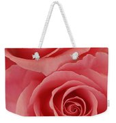 Perfect Pink Roses Weekender Tote Bag