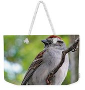 Perfect Profile - Chipping Sparrow Weekender Tote Bag