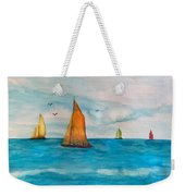 Perfect Sailing Day Weekender Tote Bag