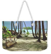 Perfect Tropical Paradise Islands With Turquoise Water And White Sand Weekender Tote Bag