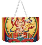 Perfection Of Insight Weekender Tote Bag