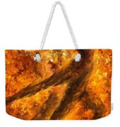 Perfection Of Practice - Palette Knife Oil Painting On Canvas By Leonid Afremov Weekender Tote Bag