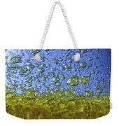 Abstract Olive Oil Weekender Tote Bag
