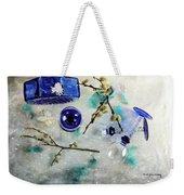 Perfectly Blue Weekender Tote Bag