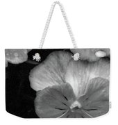 Perfectly Pansy 12 - Bw - Water Paper Weekender Tote Bag