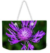 Perfectly Purple Weekender Tote Bag