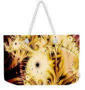 Perferated Fractal Weekender Tote Bag