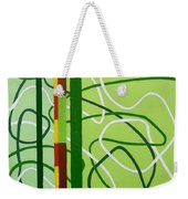 Peridot Party Weekender Tote Bag by Tara Hutton