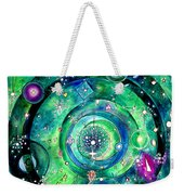 Universe Inside Of Electrons. Periodic Table Of The Elements Weekender Tote Bag