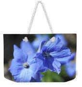 Periwinkle Flower Weekender Tote Bag