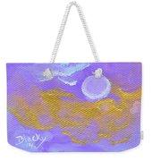 Periwinkle Moon Weekender Tote Bag