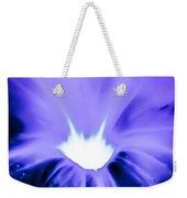 Periwinkle Petunia Weekender Tote Bag
