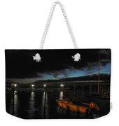Perkins Pier Sunset Weekender Tote Bag